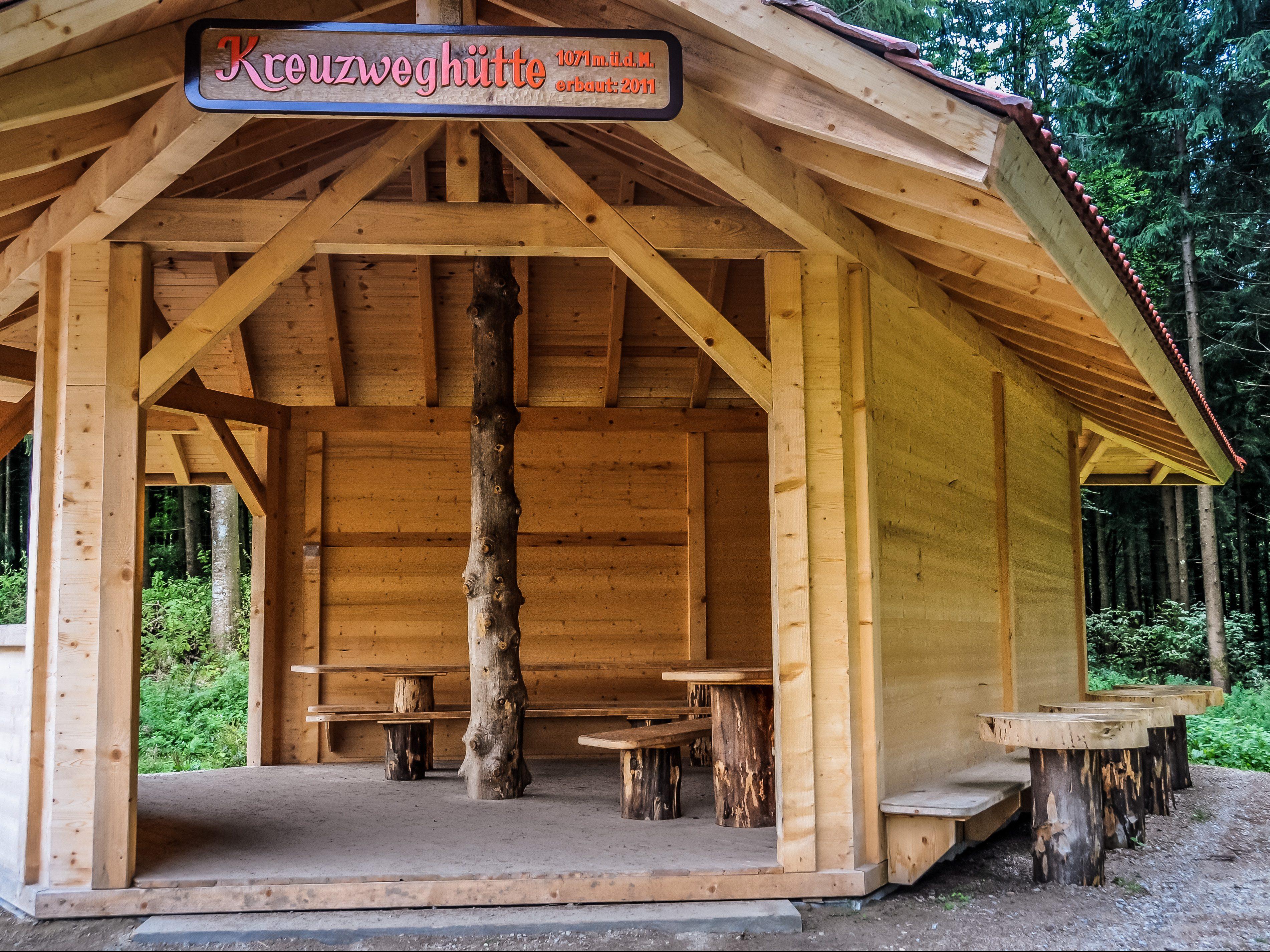 Wanderhütte – Ein schützender und gemütlicher Ort aus Holz